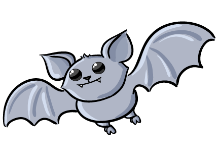 432x323 Cartoon Bat Cliparts