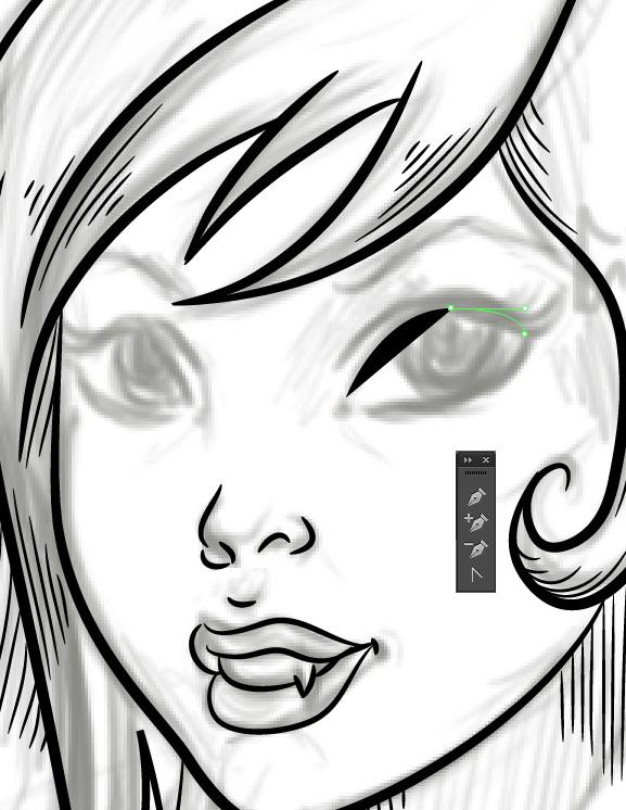 Vampire Girl Drawing Free Download Best Vampire Girl