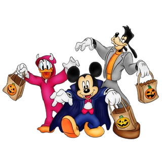 320x320 Disney Halloween Clipart