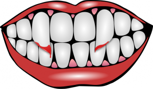 300x175 Vampire Teeth Clip Art Download