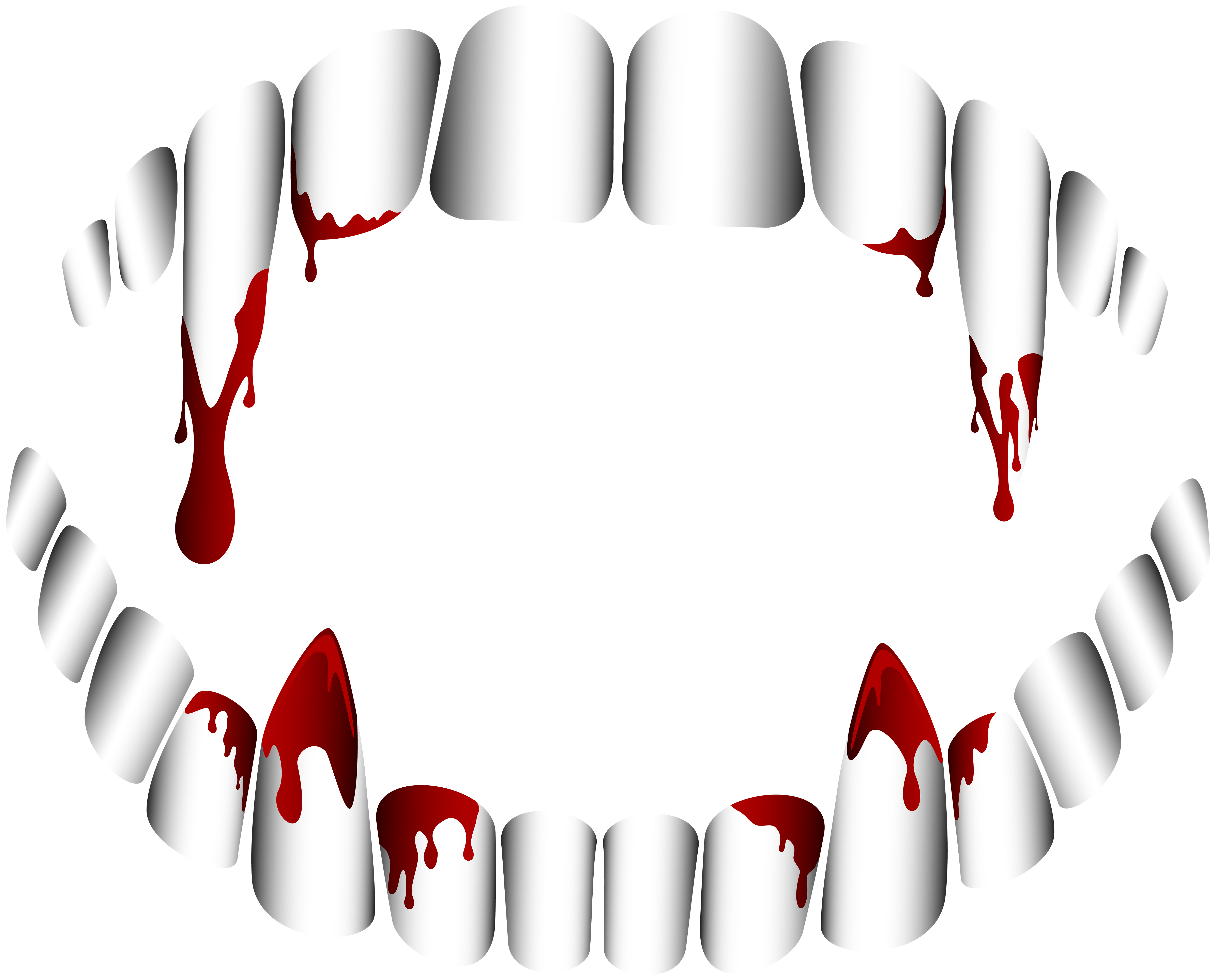 6000x4834 Dracula Clipart Tooth
