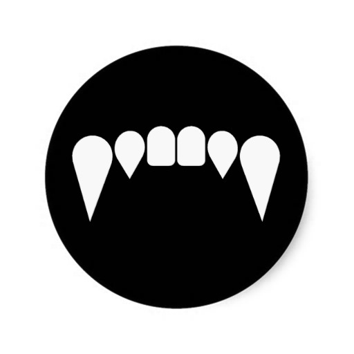 512x512 Fang Clipart Black And White