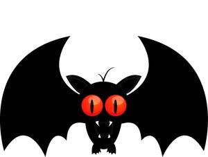 300x227 Bat Clipart Image