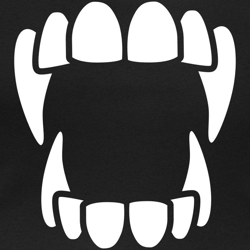 800x800 Vampire Teeth Clipart Black And White