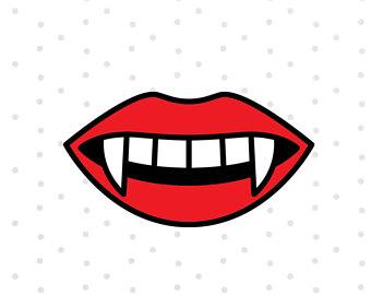 340x270 Vampire Lips Svg Etsy
