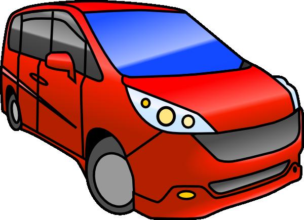 600x435 Minivan Clip Art