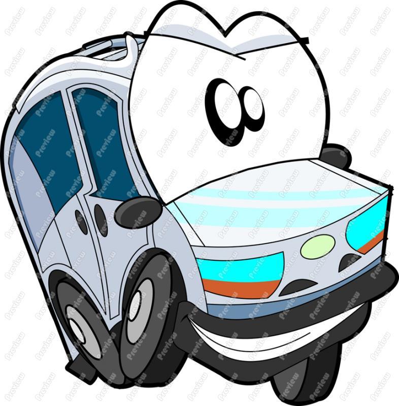 786x800 Van Character Clip Art