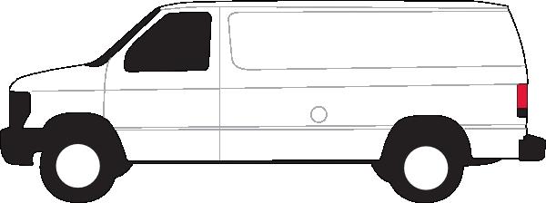 600x224 Blank Van Clip Art