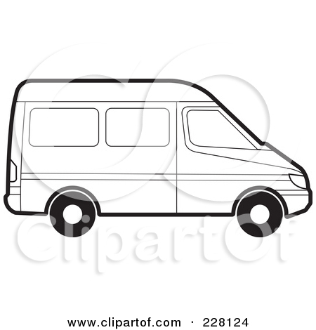 450x470 Drawing Clipart Van