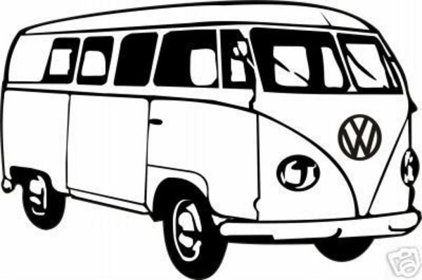600x398 Hippie Van Clip Art Cliparts