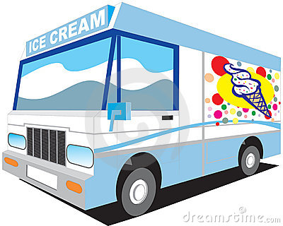 400x320 Ice Cream Truck Clip Art