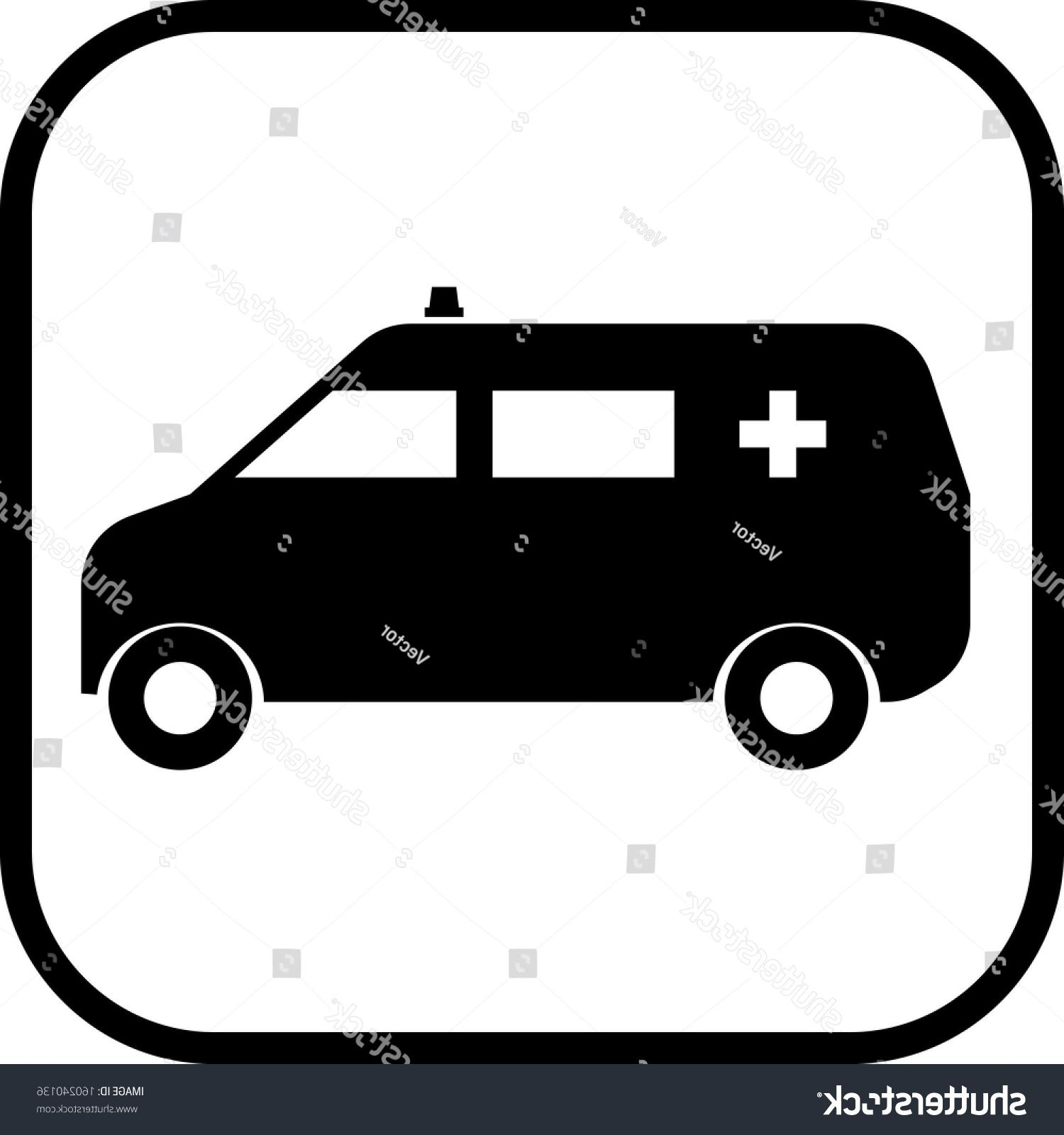 1500x1600 Unique Stock Vector Ambulance Van Car Icon Photos