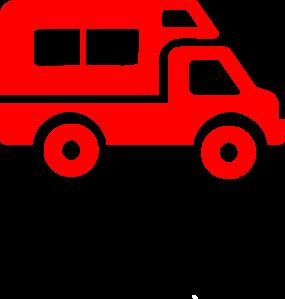 285x299 Van Clip Art