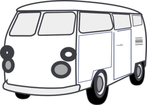 297x213 Vans Clipart Black And White