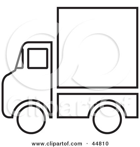 450x470 Blank Truck Clipart