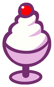185x300 Clip Art Vanilla Ice Cream Cake Clipart