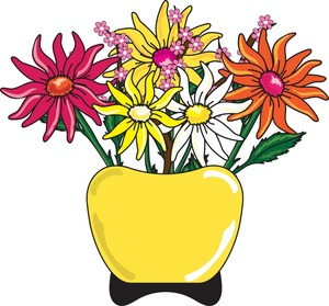 300x279 Flowers Clipart Image