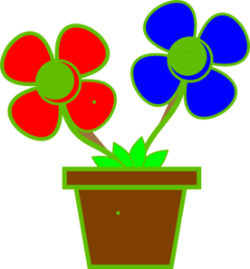 276x297 Flowers In A Vase 2 Clip Art