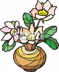 249x300 Flowers In A Vase Clip Art Image