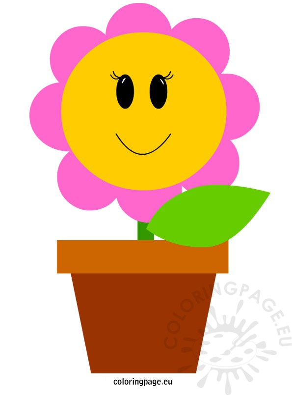 595x804 Vase Clipart Coloring Page