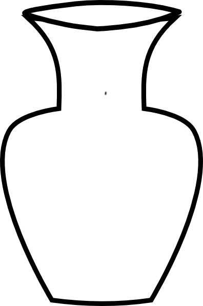Vase Clipart Black And White | Free download on ClipArtMag