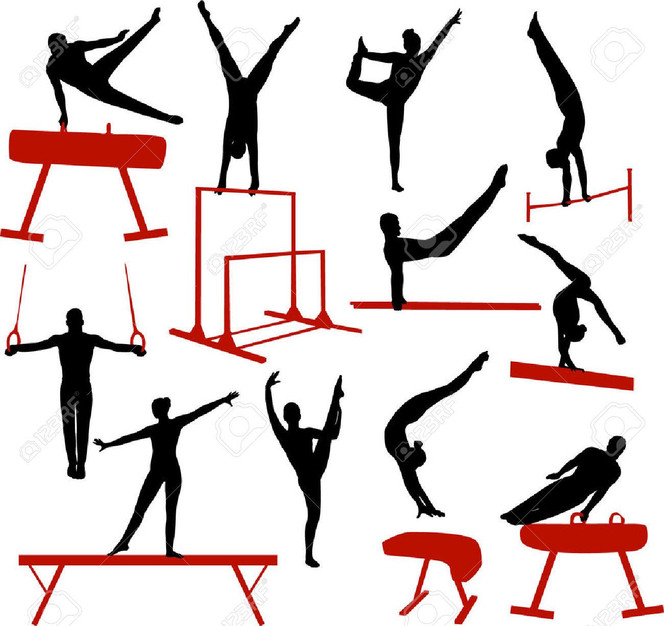 1300x1226 Gymnast Clipart Gymnastics Vault