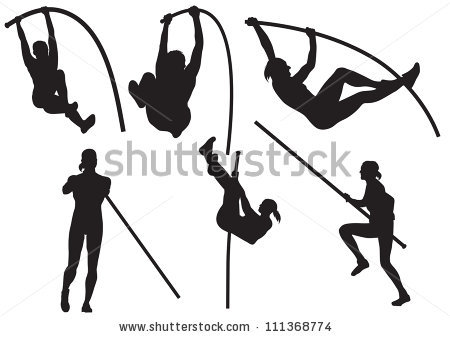 450x337 Gymnastics Clipart Silhouette Vault Clipart Panda