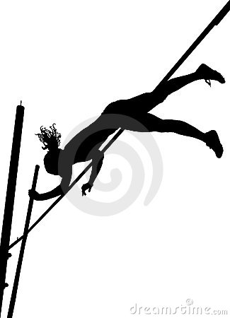 vault gymnastics silhouette. 325x450 Pole Vault Girl Clipart Gymnastics Silhouette
