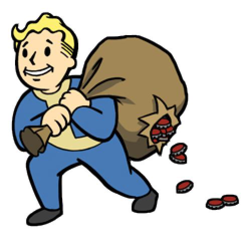 480x480 Fallout Clipart Vault Boy