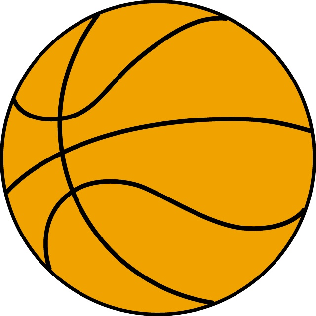 Vector Basketball Clipart
