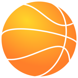 300x300 Basketball Outline Clipart
