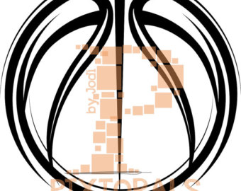 340x270 Basketball Clipart Etsy