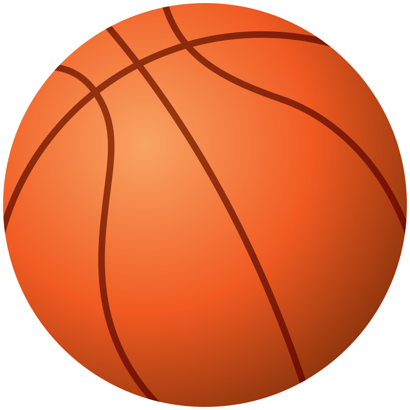 800x800 Free Basketball Clip Art