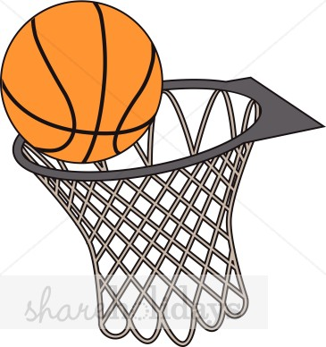 365x388 Vector Basketball Clipart