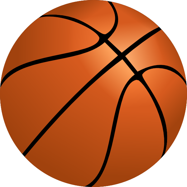 600x600 Basketball Clip Art