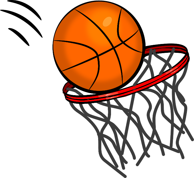 680x623 Basketball Hoop Clip Art