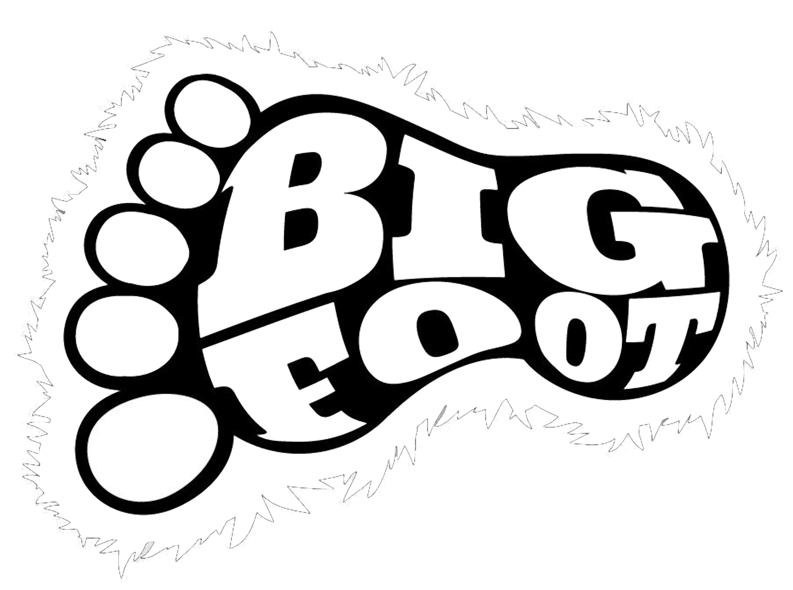 BIG FOOT VINYL Decals Sticker  BUY 2 GET 1 FREE