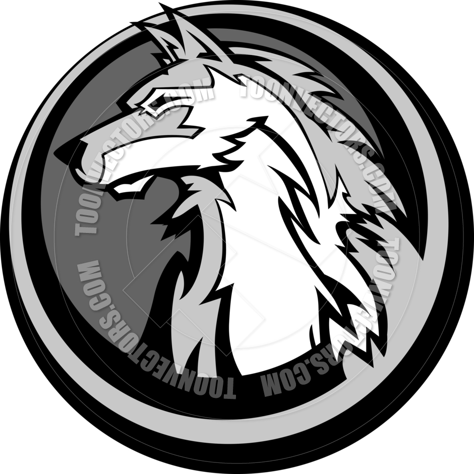 940x940 Wolf Head Vector Graphic By Chromaco Toon Vectors Eps