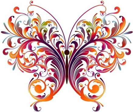 438x368 Butterfly Free Vector Download (1,986 Free Vector) For Commercial