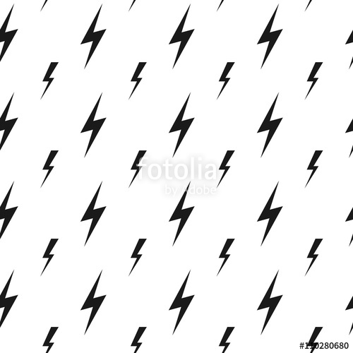 vector lightning bolts