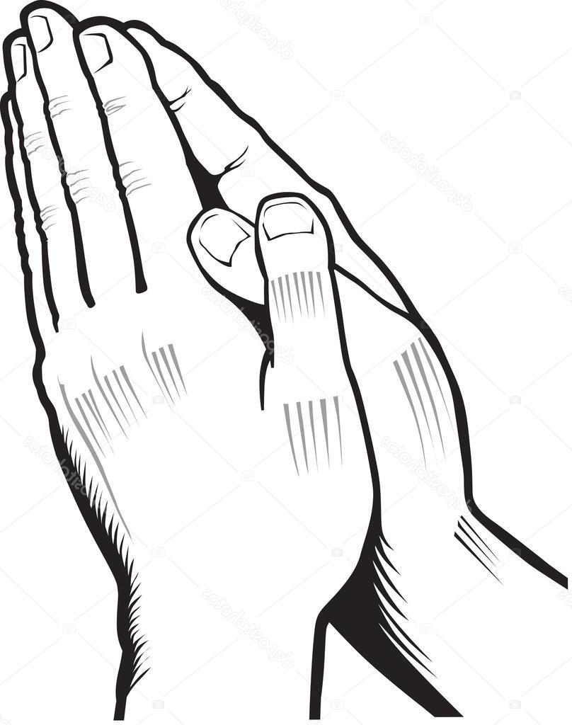 808x1024 Unique Stock Illustration Vector Of Praying Hands Photos