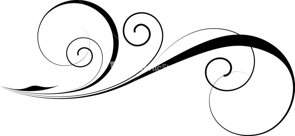 1000x463 Graphics For Decorative Swirl Vector Graphics
