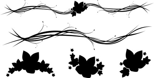 500x253 30 Free Swirl,curly And Floral Vectors For Designers Designbeep