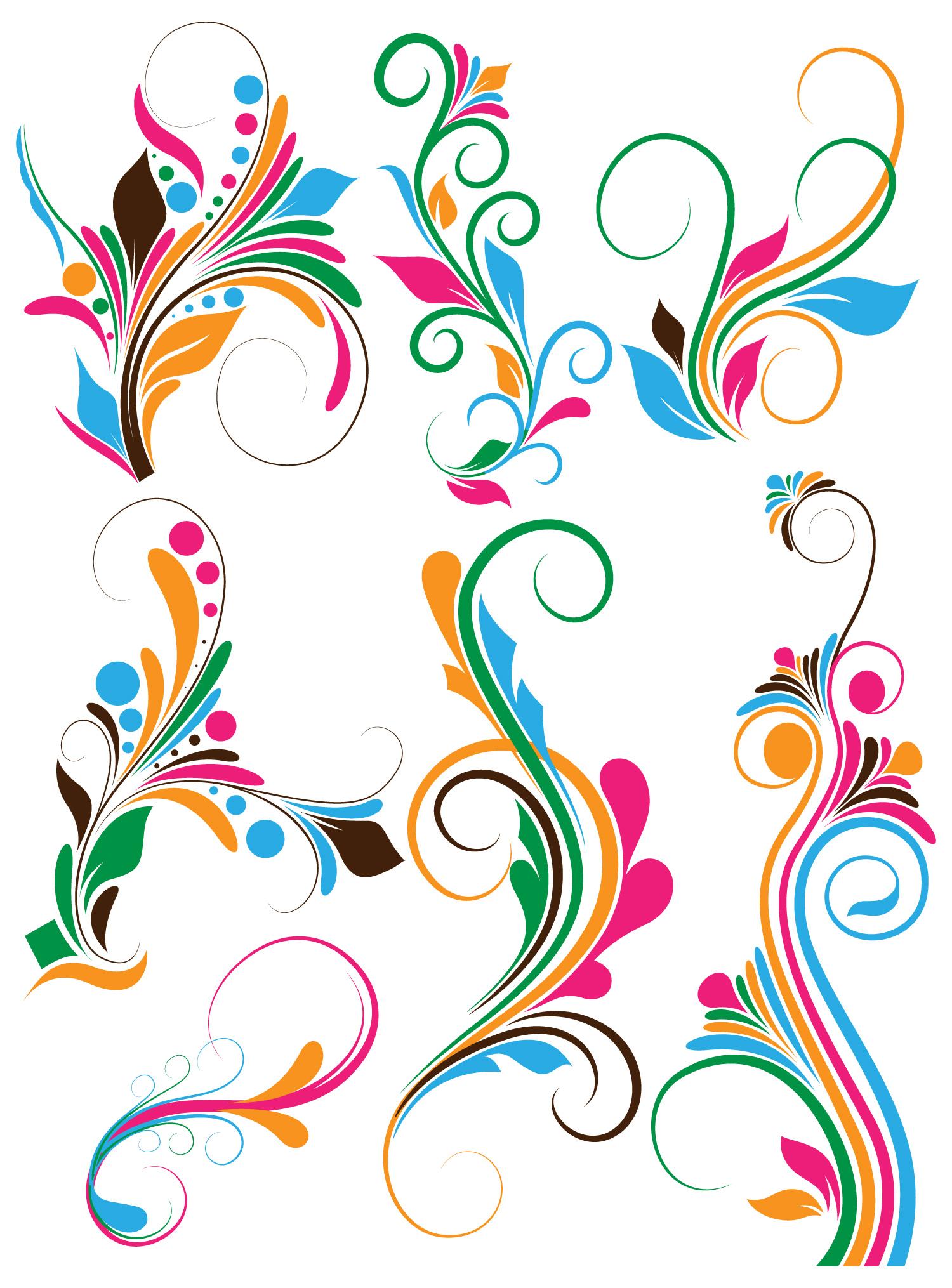 1500x2030 Swirl Clipart Graphic Design