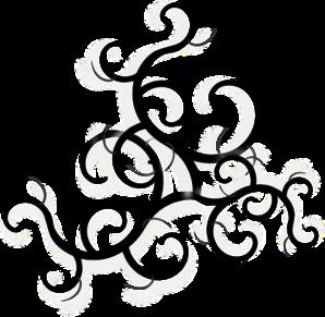 298x291 Swirls Clip Art