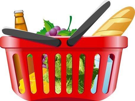 456x342 Vegetable Basket Clip Art, Vector Vegetable Basket
