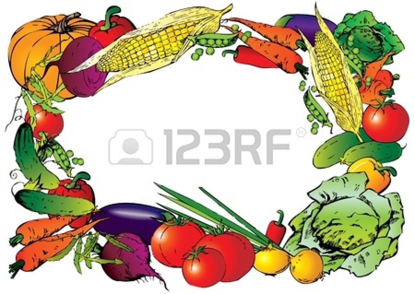 Vegetable Border | Free download best Vegetable Border on ...
