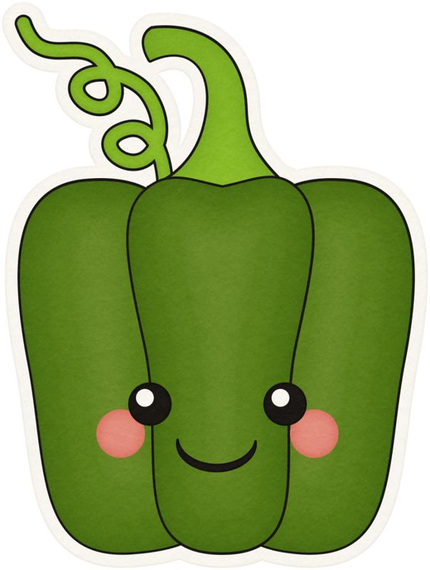 Vegetable Cartoon Clipart