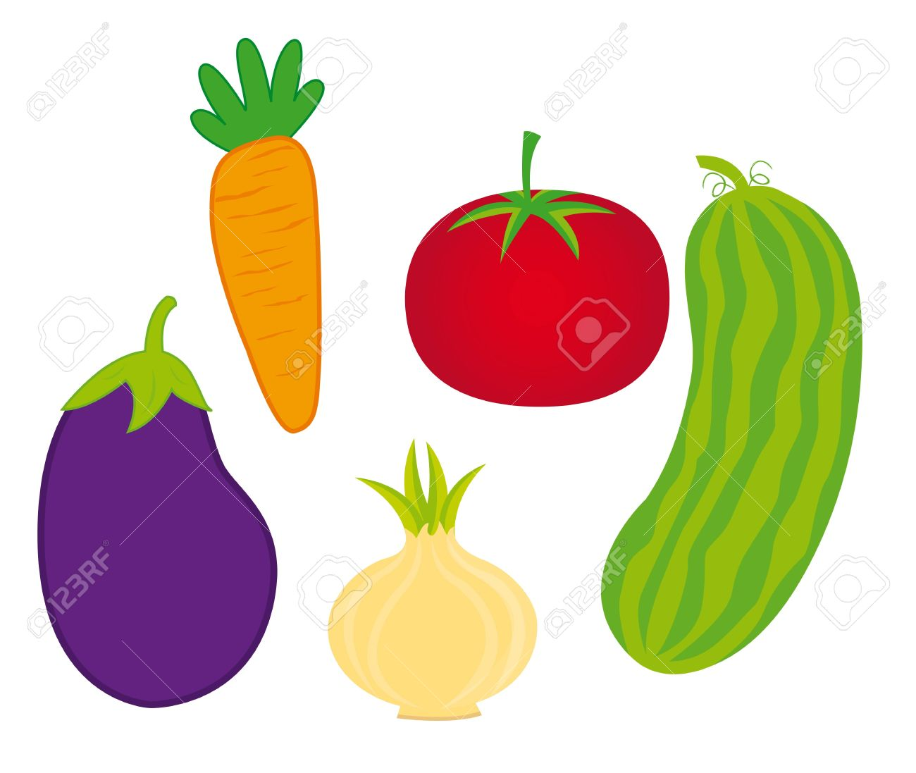 1300x1097 Vegetable Clipart