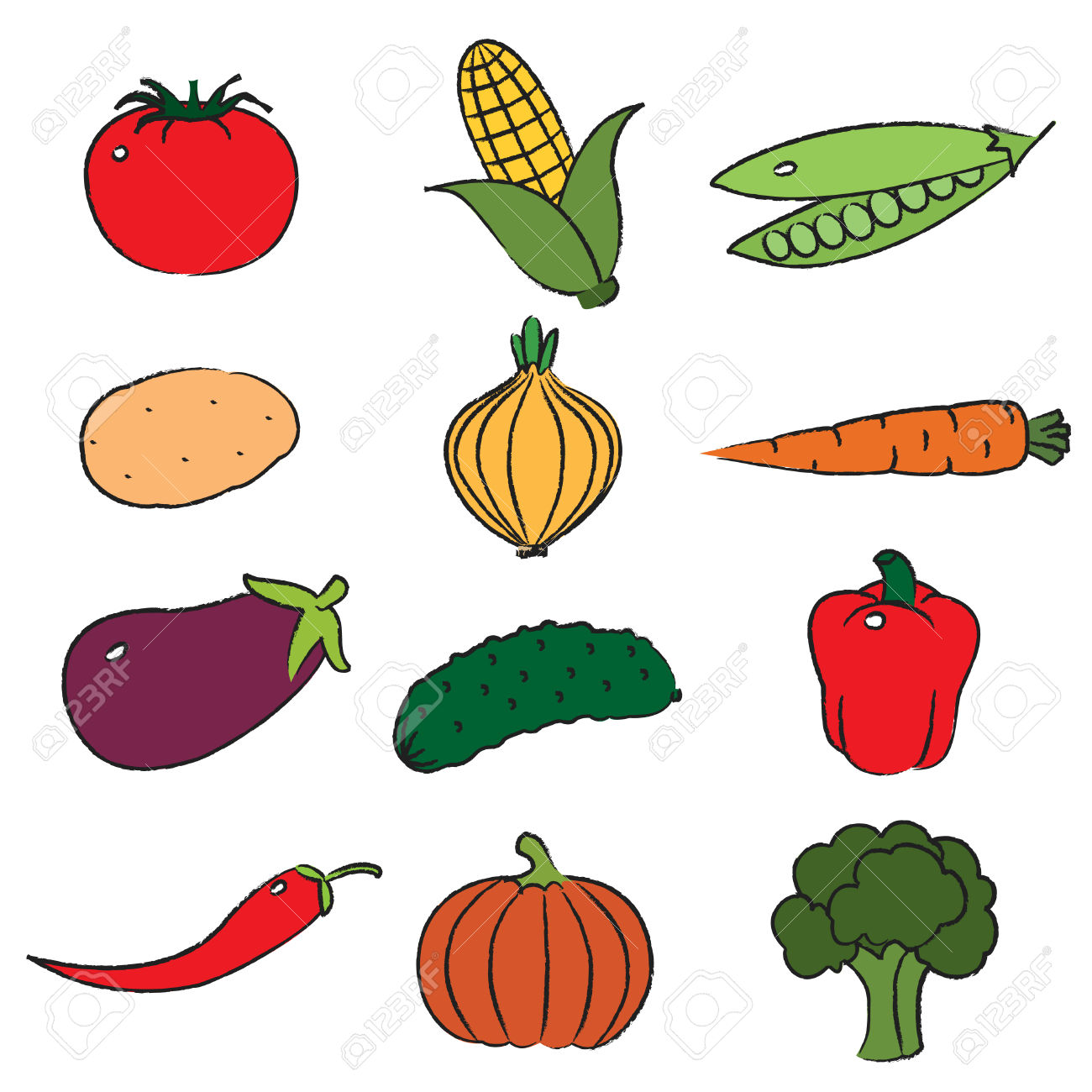 1300x1300 Vegetable Clipart Vegetable Food Group